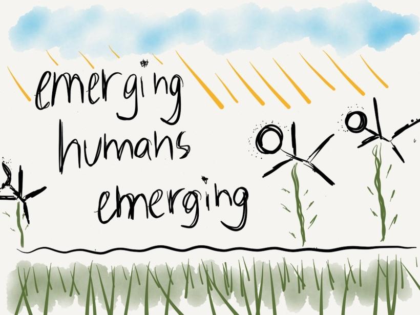 emerging humans emerging