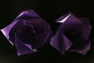 purpleorigamiroses