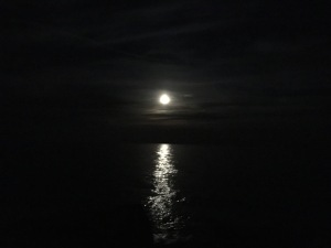 moon and water horizontal