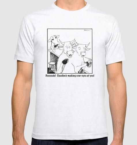 claudine t-shirt