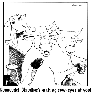 claudine's making cow eyes THIS jpeg