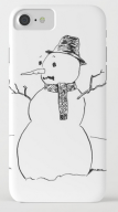 Flawed Snowman IPHONE CASE copy