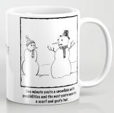 Flawed Snowman MUG copy