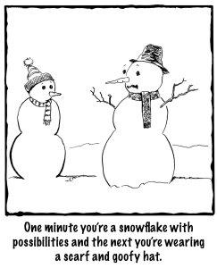 SNOWMAN BIG COPY Master copy