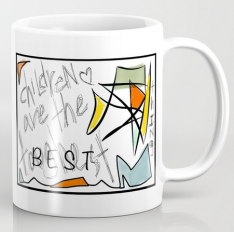 TwoArtists ChildrenAre MUG copy