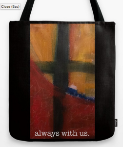 always with us TOTE BAG copy