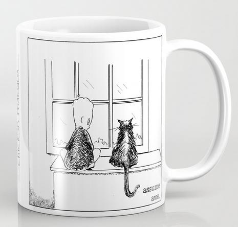 assume awe mug copy