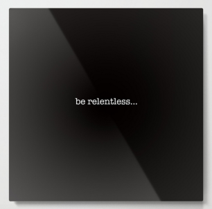 BeRelentless METAL WALL ART copy