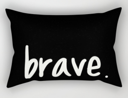 brave pillow copy