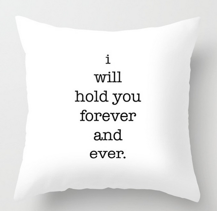 forever and ever SQ PILLOW copy