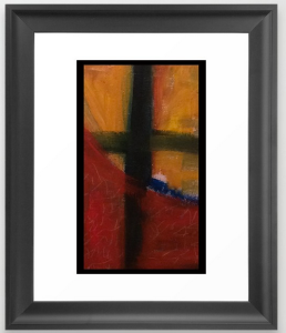 II earth interrupted FRAMED ART PRINT copy