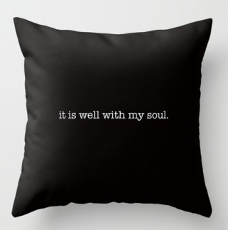 it is well SQ PILLOW copy