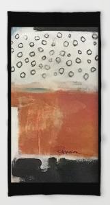 layered meditation BEACH TOWEL copy