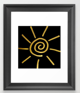 as sure as the sun FraMeD ART PRINT copy