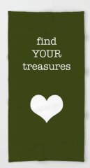 find your treasures BEACH TOWEL copy