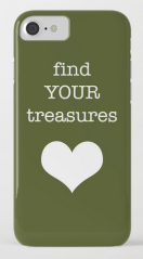 find your treasures IPHONE CASE copy
