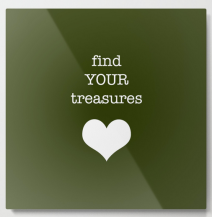 find your treasures METAL WALL ART copy