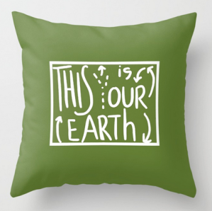 our earth SQ PILLOW copy