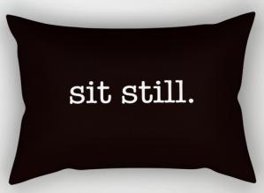 sit still RECT PILLOW
