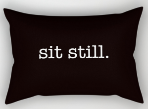 sit still RECT PILLOW