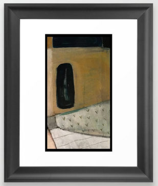 the doorway FRAMED ART copy