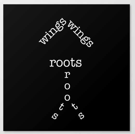 roots wings CANVAS