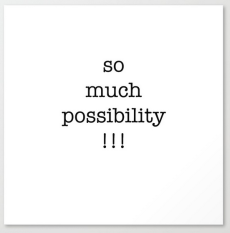 so much possibility CANVAS copy