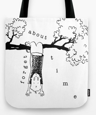 forgetabouttime TOTE BAG