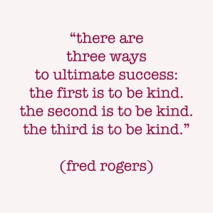 kindness mr rogers