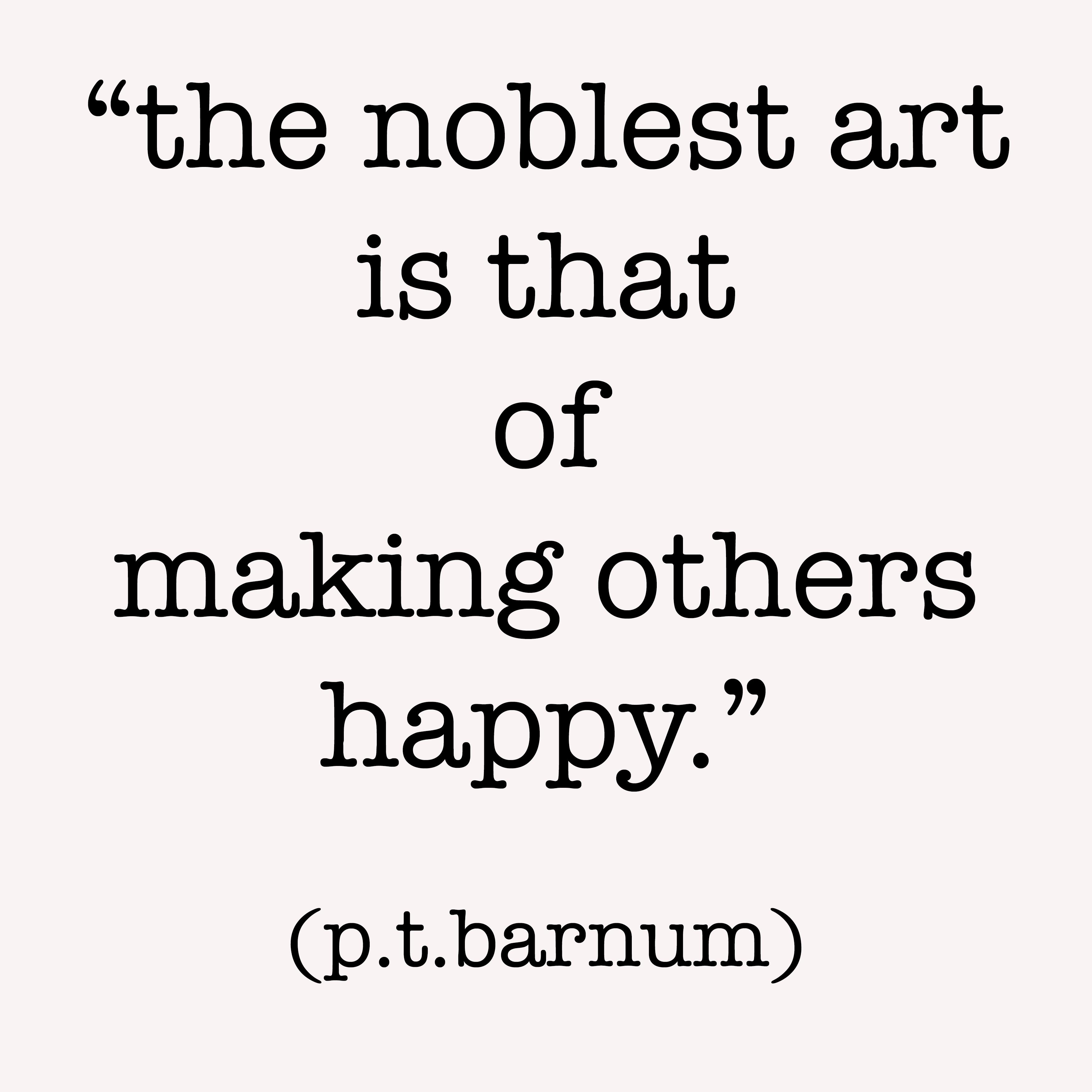 pt barnum quote