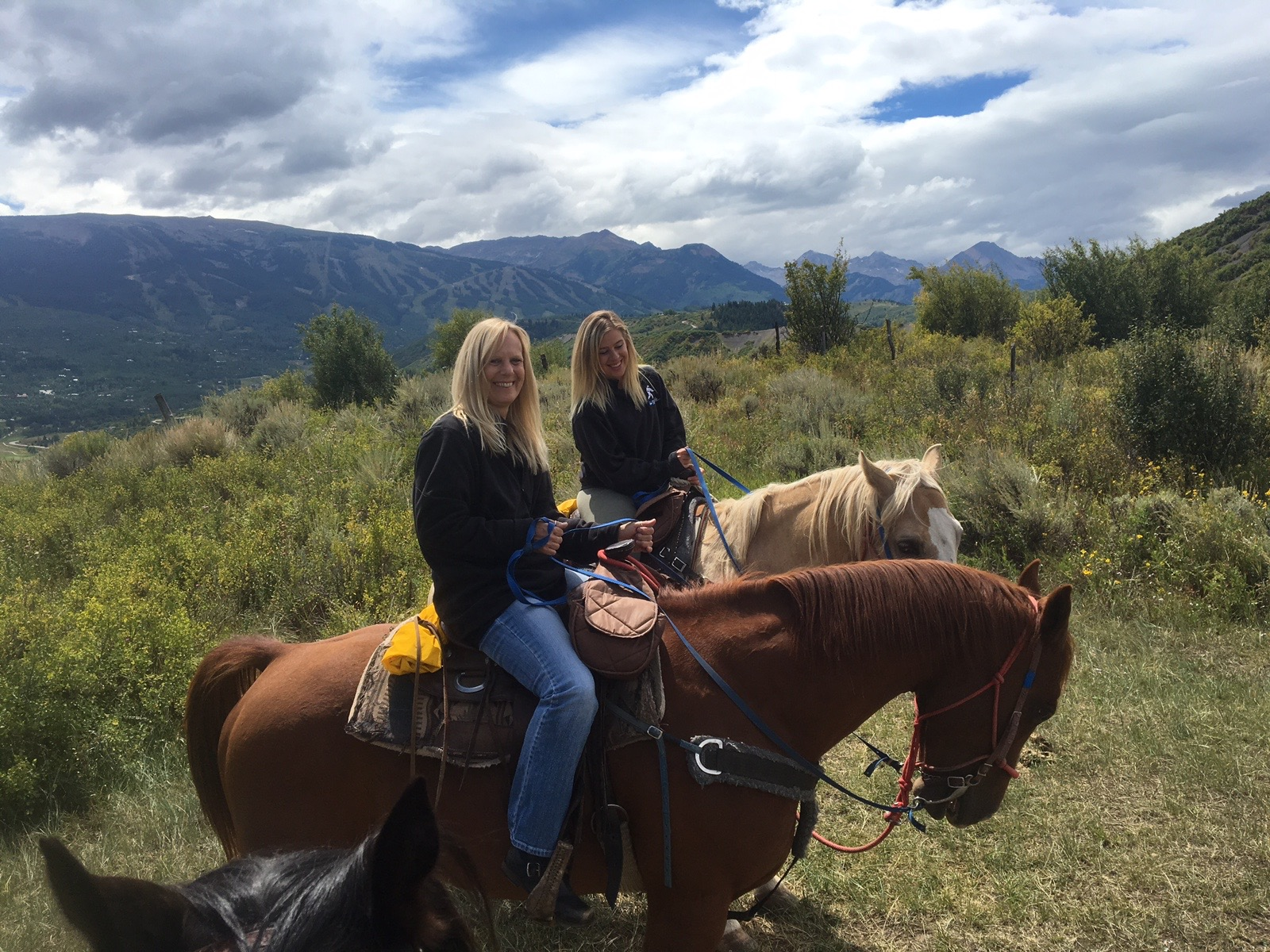 k and me riding