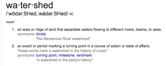 watershed definition
