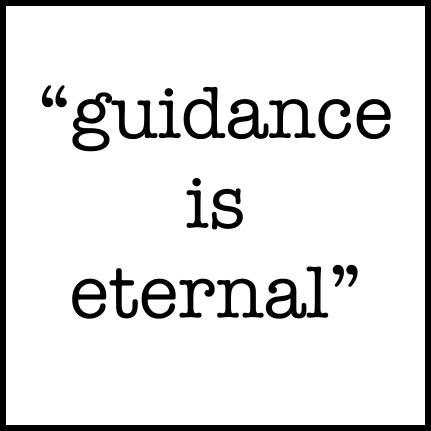guidance framed copy