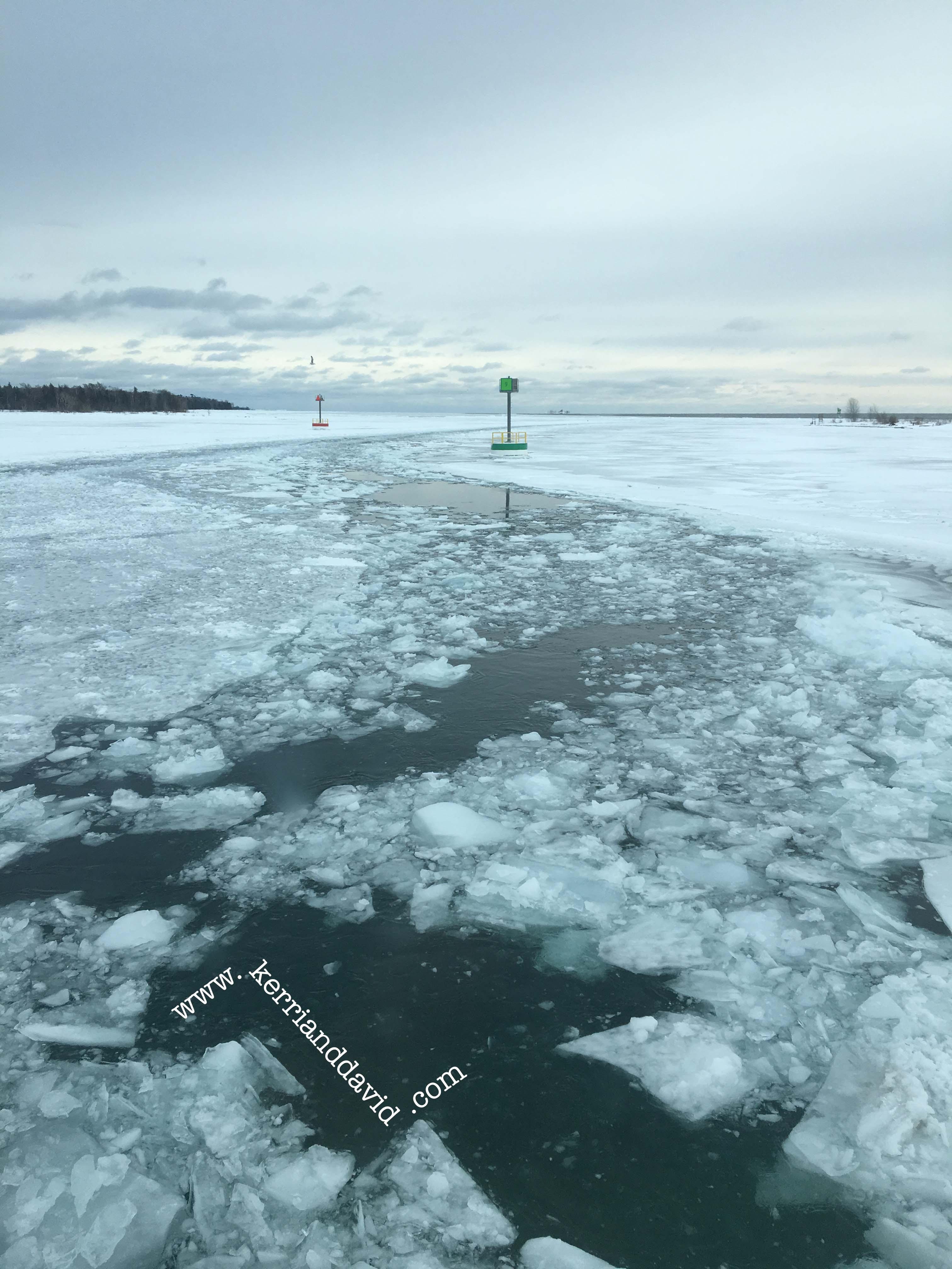 zigzag through ice website box