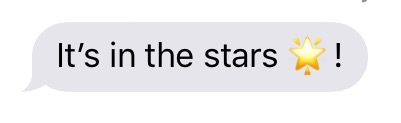 it's in the stars copy