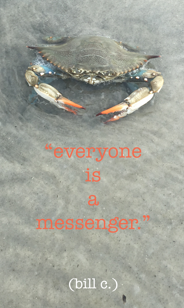 *everyone is a messenger