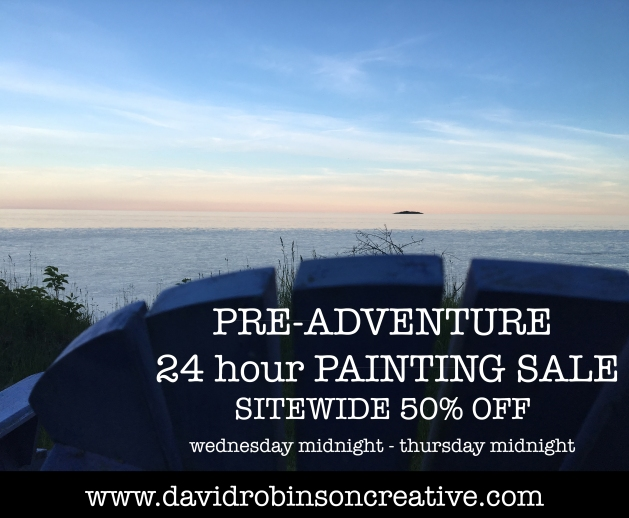 preadventure painting sale box