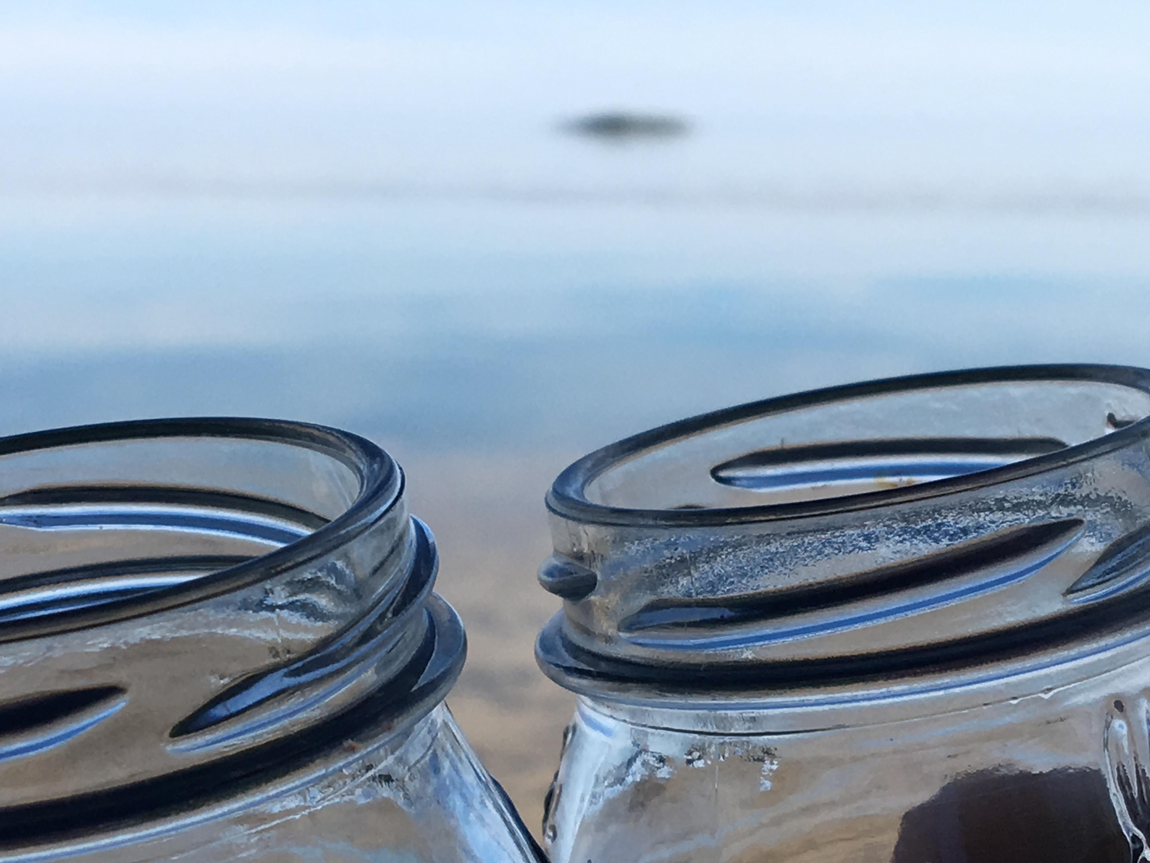 jelly jars & sunset