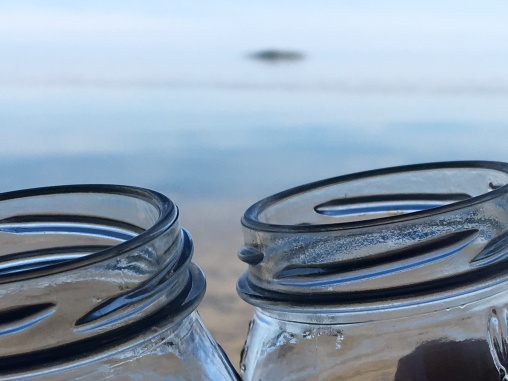 jelly jars & sunset