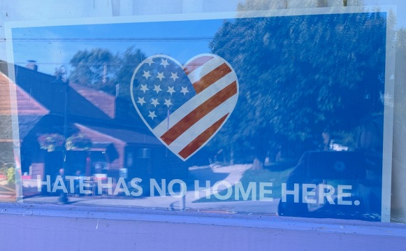 hate has no home here
