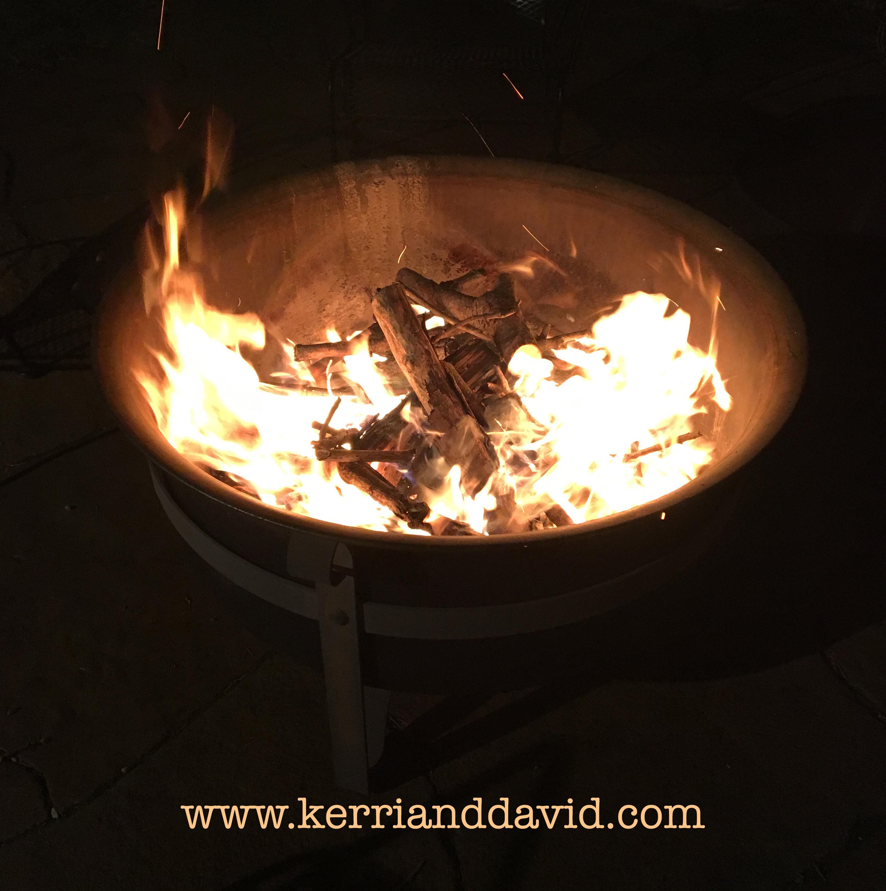 bonfire website box