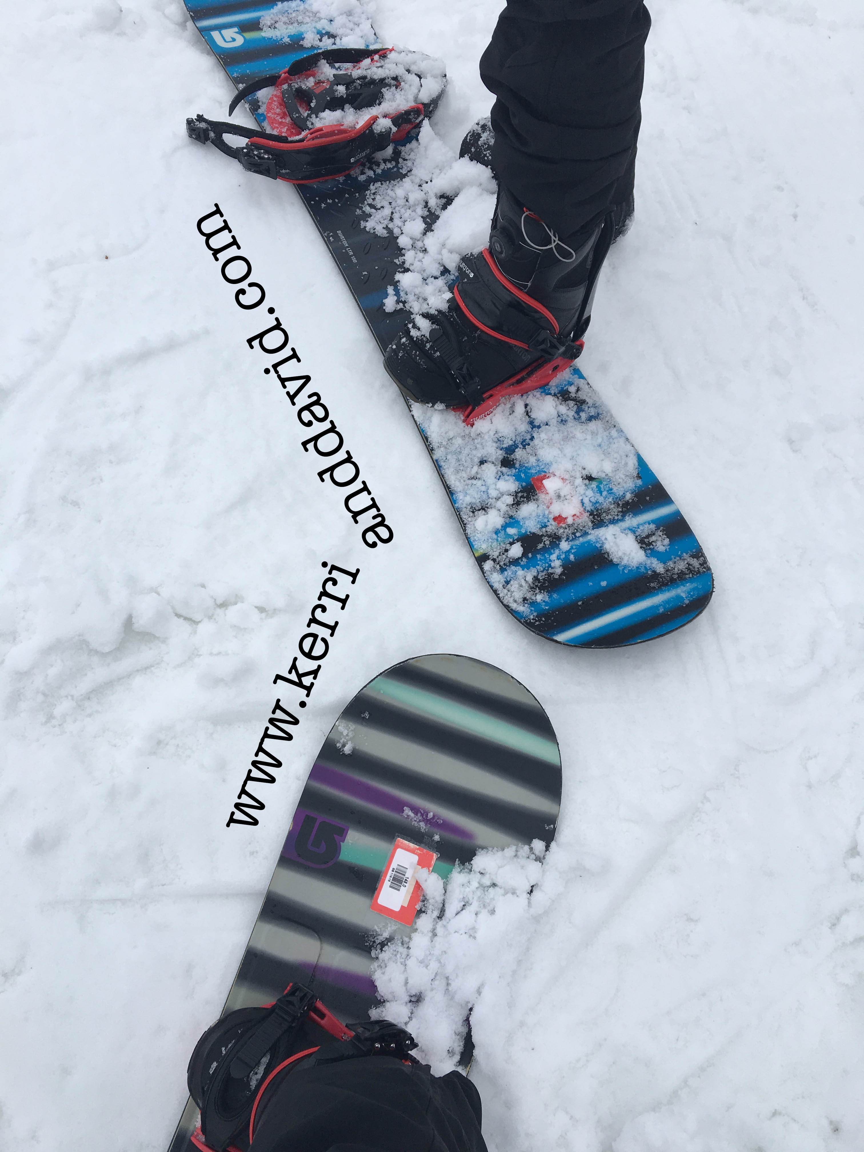 snowboards website box