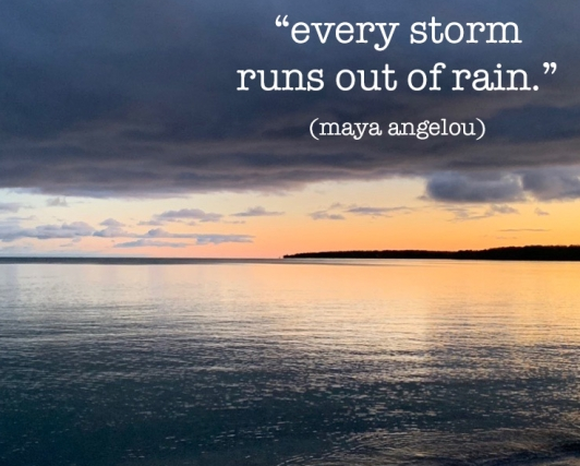 every storm runs out copy