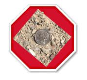 stop sign quarter