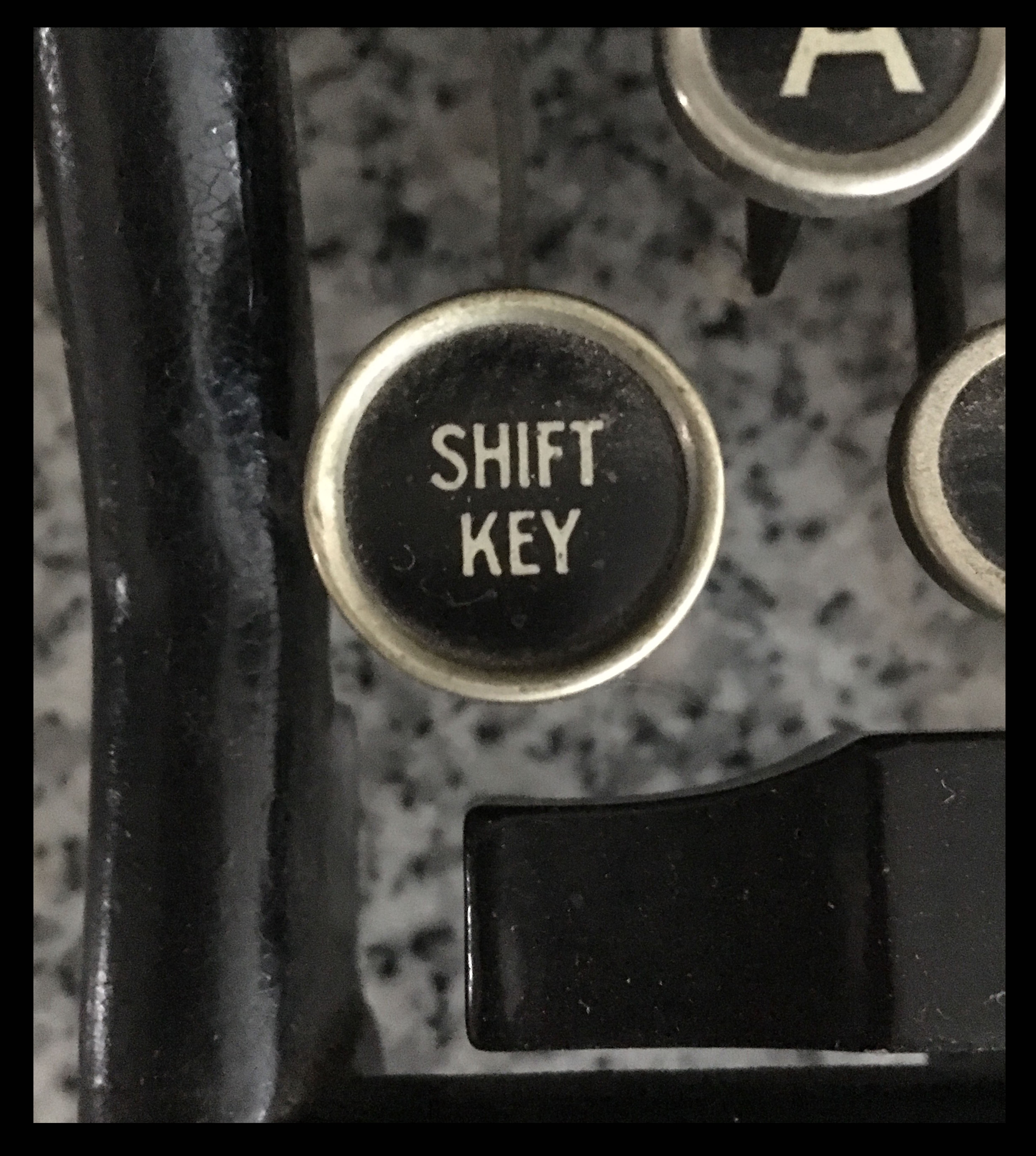 shift key framed