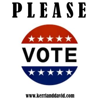please vote website box